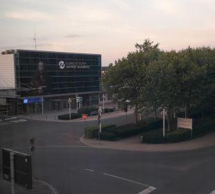 Ausblick Mövenpick Hotel Nürnberg Airport