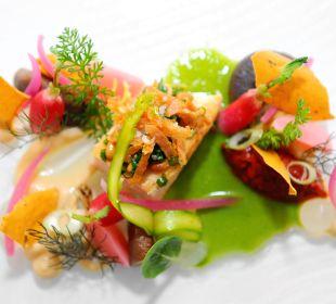 Paella in der Gutsschenke Schlosshotel Monrepos