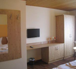 Eindruck Doppelzimmer Ferienpension Zum Hochscheid