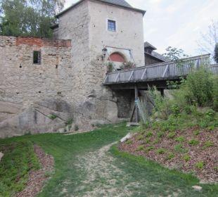 Burg direkt am Hotel Hotel Schatz.Kammer Burg Kreuzen