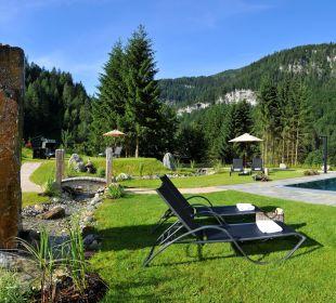 Gartenanlage Alpin Life Resort Lürzerhof