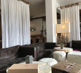 Lobby Hubertus Alpin Lodge & Spa