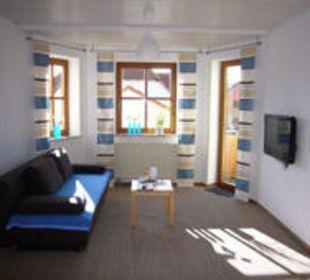 Ferienwohnung 5 Wohnraum Gästezimmer Fewos Familie Neubert