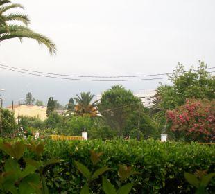 Ausblick aus Zimmer 324 Hotel Livadi Nafsika
