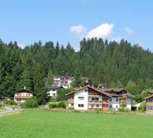 Vue de l'hotel au loin Gartenhotel Rosenhof