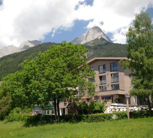 Sommeransicht aussen Hotel Zistelberghof