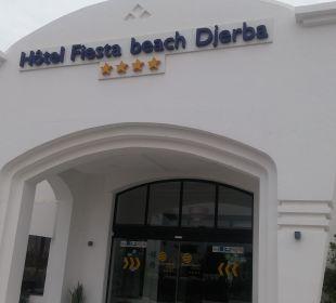 Eingang Hotel Fiesta Beach Djerba