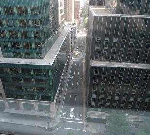 La vista dalla mia stanza Hotel Westin New York Grand Central