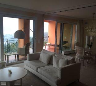 Wohn/Esszimmer Villa Orselina Boutique Hotel