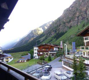 Ausblick Balkon Hotel Landhaus Edelweiss