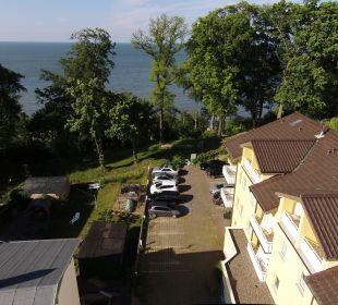 Luftaufnahme Inselhotel Rügen B&B