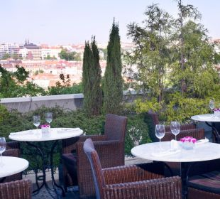 Café Praha - summer garden Hotel Corinthia Prag