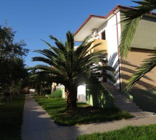 Schöne Seitenansicht Hotel Amari