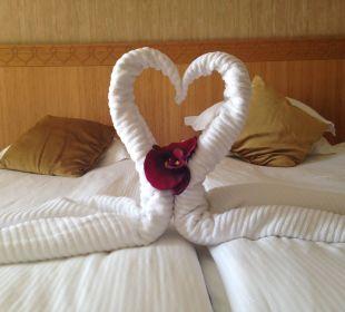 Kleines Dankeschön der Servicekraft Hotel Royal Dragon