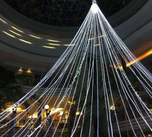 Weihnachtsdekoratin Adrián Hoteles Jardines de Nivaria