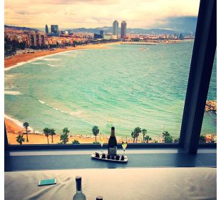Der Ausblick W Barcelona Hotel