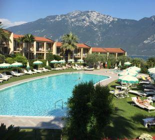 Sehr schöner und ruhiger Pool  Park Hotel Imperial Centro Tao - Natural Medical Spa