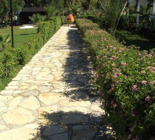 Weg zum Hotel Side Sun Bella Resort & Spa
