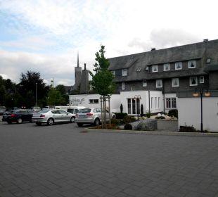 Teilansicht des Hotels Hotel Engemann Kurve