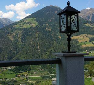 Panoram von der Terrasse Hotel Panorama