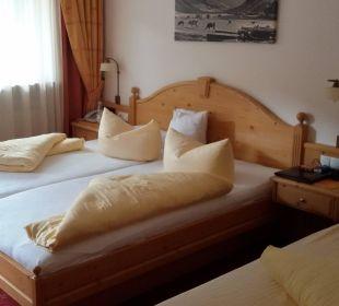 Doppelbett Hotel Glockenstuhl