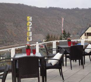 Terrasse Moselromantik Hotel Thul