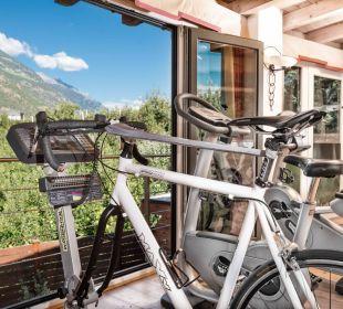 Indoor-Fitnessraum DolceVita Hotel Jagdhof