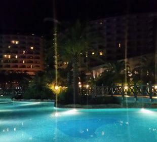 Romantischer Abend.  Hotel Royal Wings