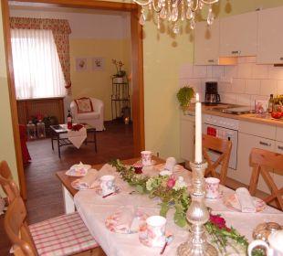 **** Wiesenblick Küchenzeile + Kühlgefrierkombi Bergidylle Harz - Suites