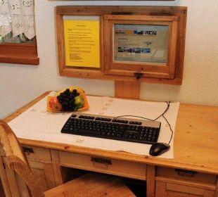 Internetzugang Aparthotel Spitzer