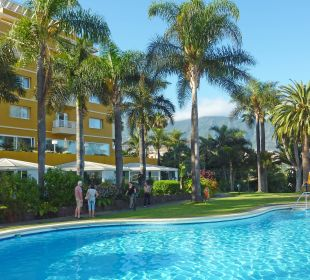 Pool und Garten Hotel Tigaiga