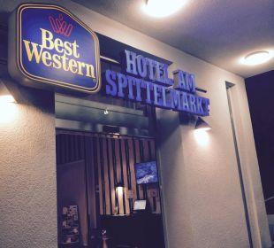 Lobby von außen Best Western Hotel am Spittelmarkt