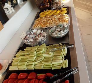 Frühstück Hotel Corissia Beach