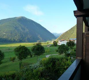 Blick aus dem Zimmer Beauty & Wellness Resort Hotel Garberhof
