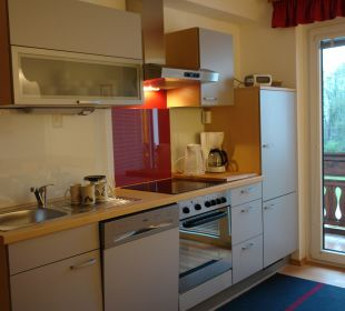 """Küche Appartement """"Dobratsch"""" Gästehaus Seewinkel"""