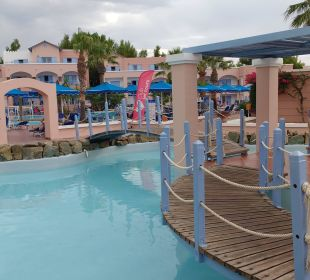 Weg zum Pool Hotel Mitsis Rhodos Village & Bungalow