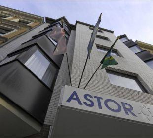 Außenansicht Astor und Aparthotel