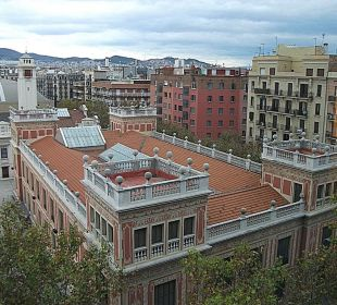 Ausblick, 5.Etage Crowne Plaza Barcelona - Fira Center
