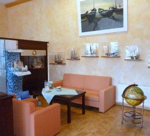 In der Lobby Best Western Hotel Hanse-Kogge