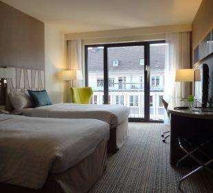 Soll das deluxe sein? Hotel Courtyard by Marriott München City Center