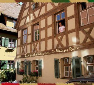 Das schöne Gästehaus vom Weissen Roß Flair Hotel Weisses Roß