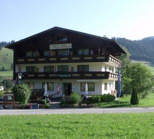 Außenansicht Pension Alpenblick