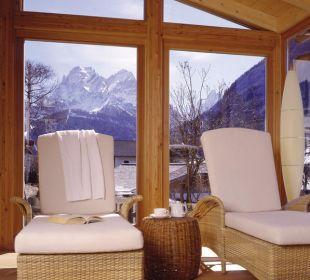 Relaxbereich für unsere Gäste Strobl