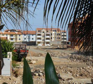 Blick vom Balkon Hotel Pousada da Luz