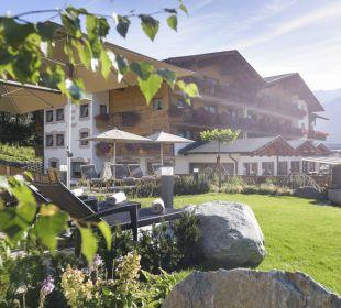 Sporthotel Brugger in Fulpmes mit Garten Sporthotel Brugger