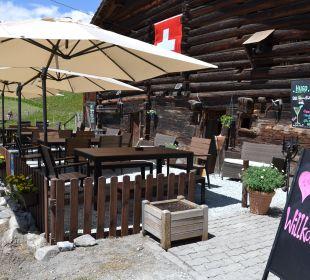 Neue Sonnenterrasse Gasthaus Alpina