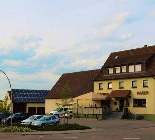 Unser Hotel und Gasthof mit neuer Terrasse Gasthof Zum Hasen