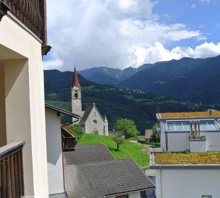 Blick vom Balkon Hotel Taubers Unterwirt