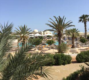 Ausblick vom Balkon SunConnect Djerba Aqua Resort
