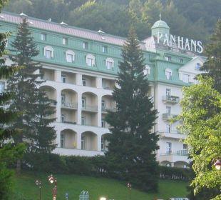 Frontseite Hotel Panhans
